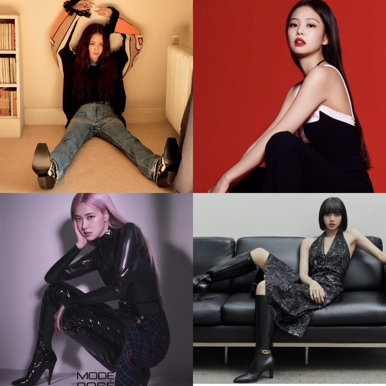 Cách tạo dáng của BLACKPINK đỉnh tới mức nào mà netizen khuyên nhóm làm người mẫu nếu lỡ... thất nghiệp? - Ảnh 11.