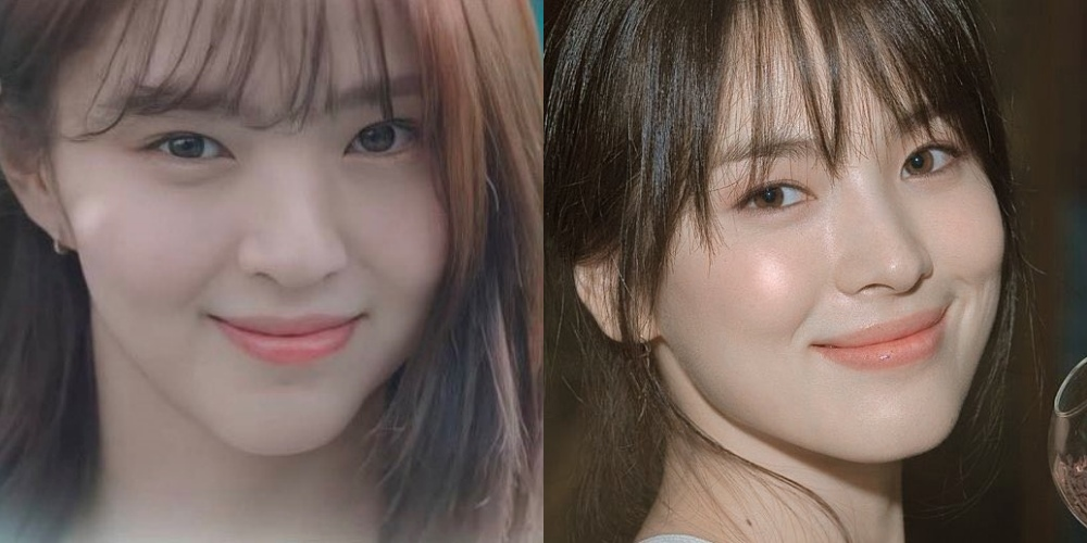 """Là cố tình bắt chước hay trùng hợp thì """"tiểu tam"""" Han So Hee còn chạy dài mới bằng Song Hye Kyo khi đụng hàng - Ảnh 6."""