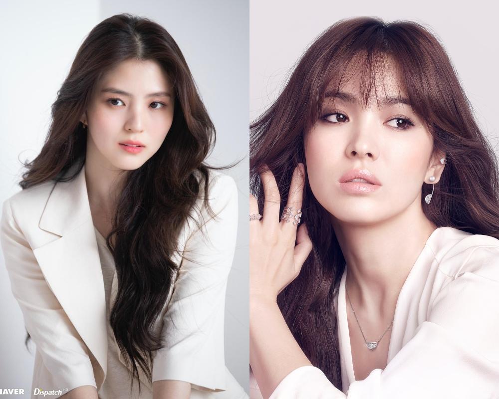 """Là cố tình bắt chước hay trùng hợp thì """"tiểu tam"""" Han So Hee còn chạy dài mới bằng Song Hye Kyo khi đụng hàng - Ảnh 8."""