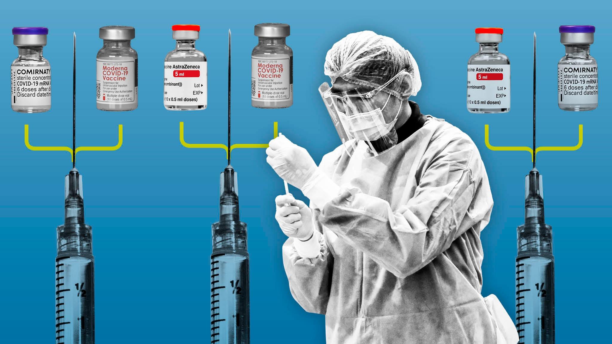 Quốc gia nào cho phép kết hợp các loại vắc xin ngừa COVID-19? - Ảnh 2.