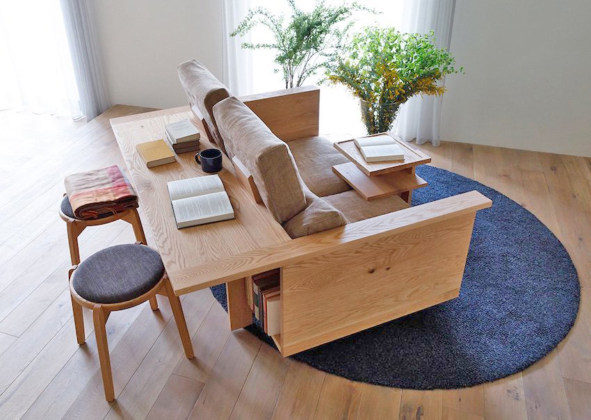 Ghế sofa kết hợp bàn làm việc – sản phẩm cực mê cho không gian hiện đại - Ảnh 2.