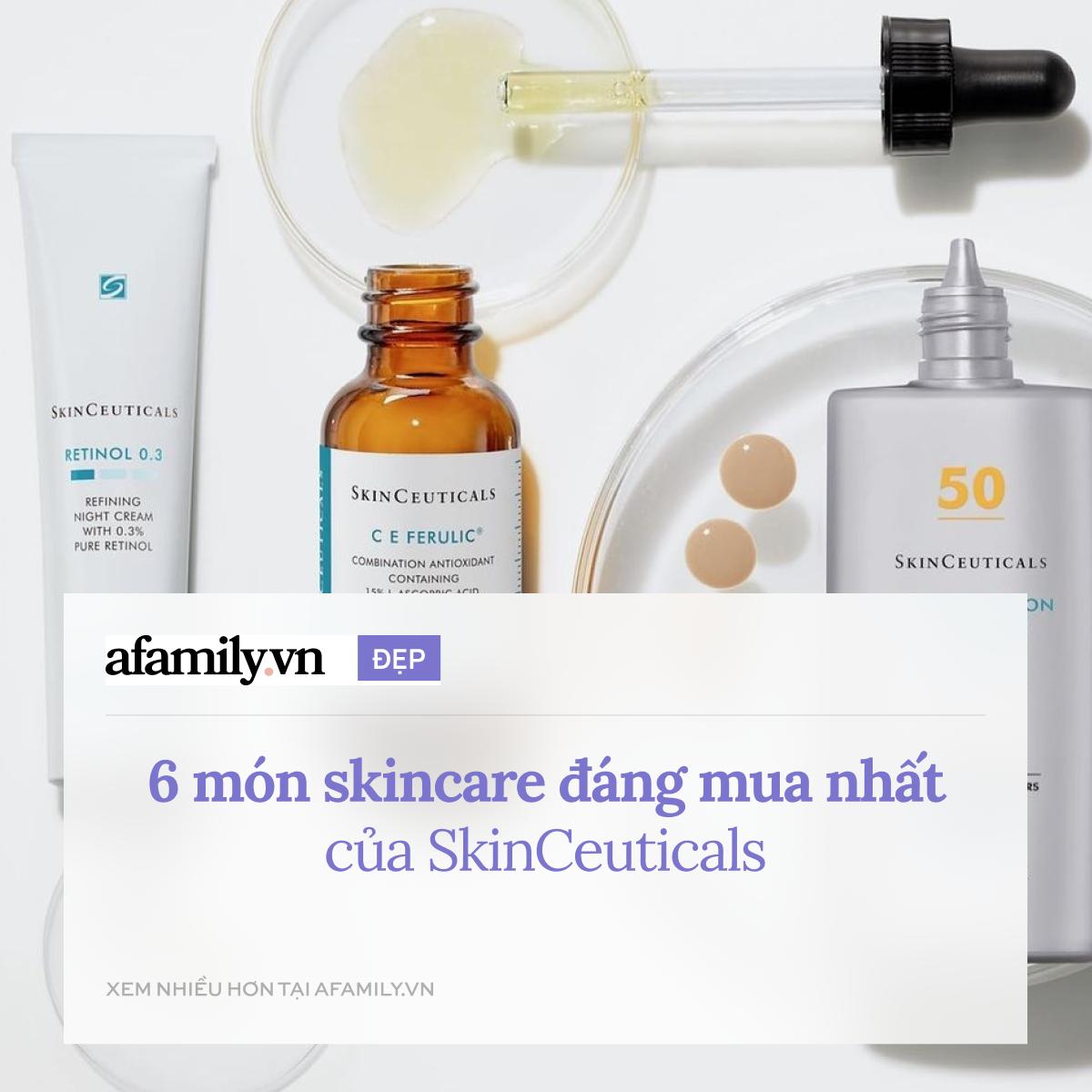 """Ngoài serum Vitamin C """"thần thánh"""", SkinCeuticals còn 5 món skincare chống lão hóa đỉnh cao giúp da đẹp vượt bậc - Ảnh 1."""