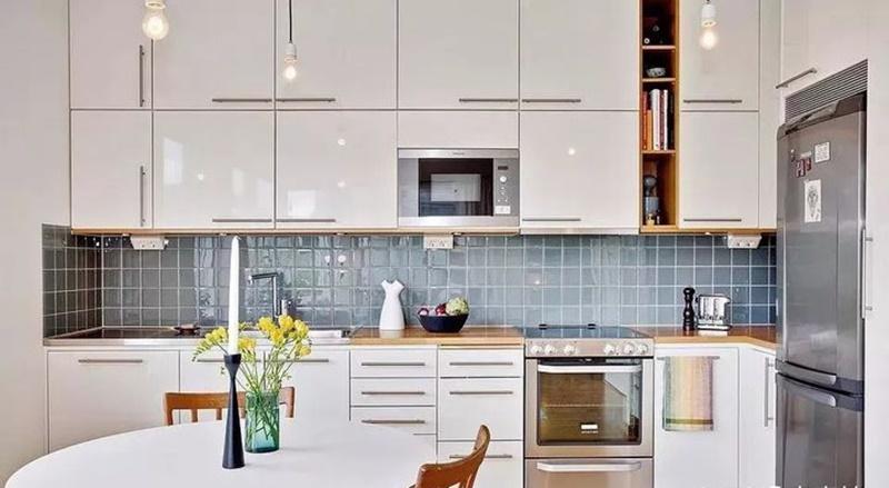 """Những """"tuyệt chiêu"""" thiết kế cho căn bếp 4-5m2, không gian nhỏ mà hiệu quả sử dụng vẫn hoàn hảo - Ảnh 9."""