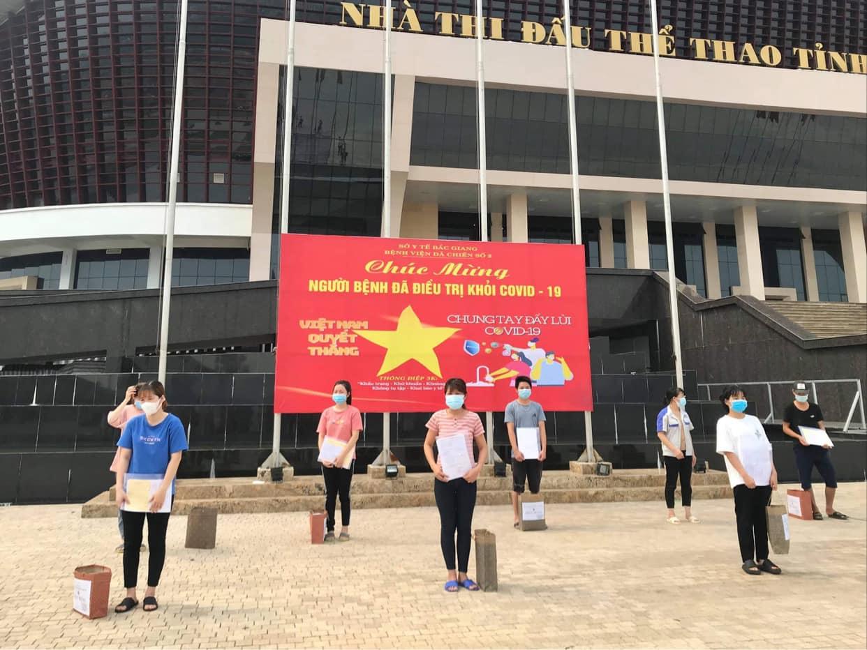 Bắc Giang: Đã có 207 bệnh nhân mắc COVID-19 được công bố khỏi bệnh - Ảnh 3.