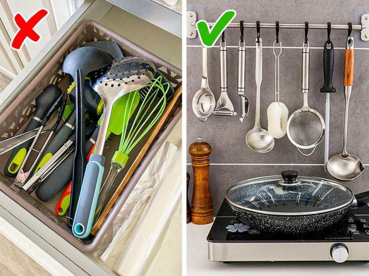 Những lời khuyên thiết thực giúp loại bỏ lộn xộn khỏi nhà bếp một cách nhanh chóng - Ảnh 10.