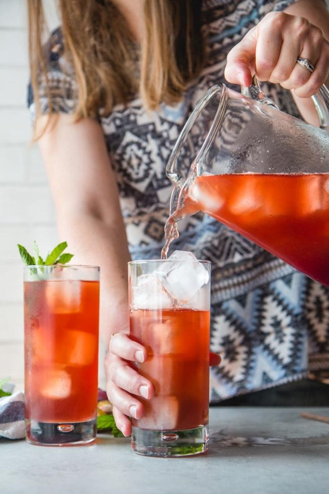 5 công thức trà hoa quả mùa hè này  - Ảnh 1.