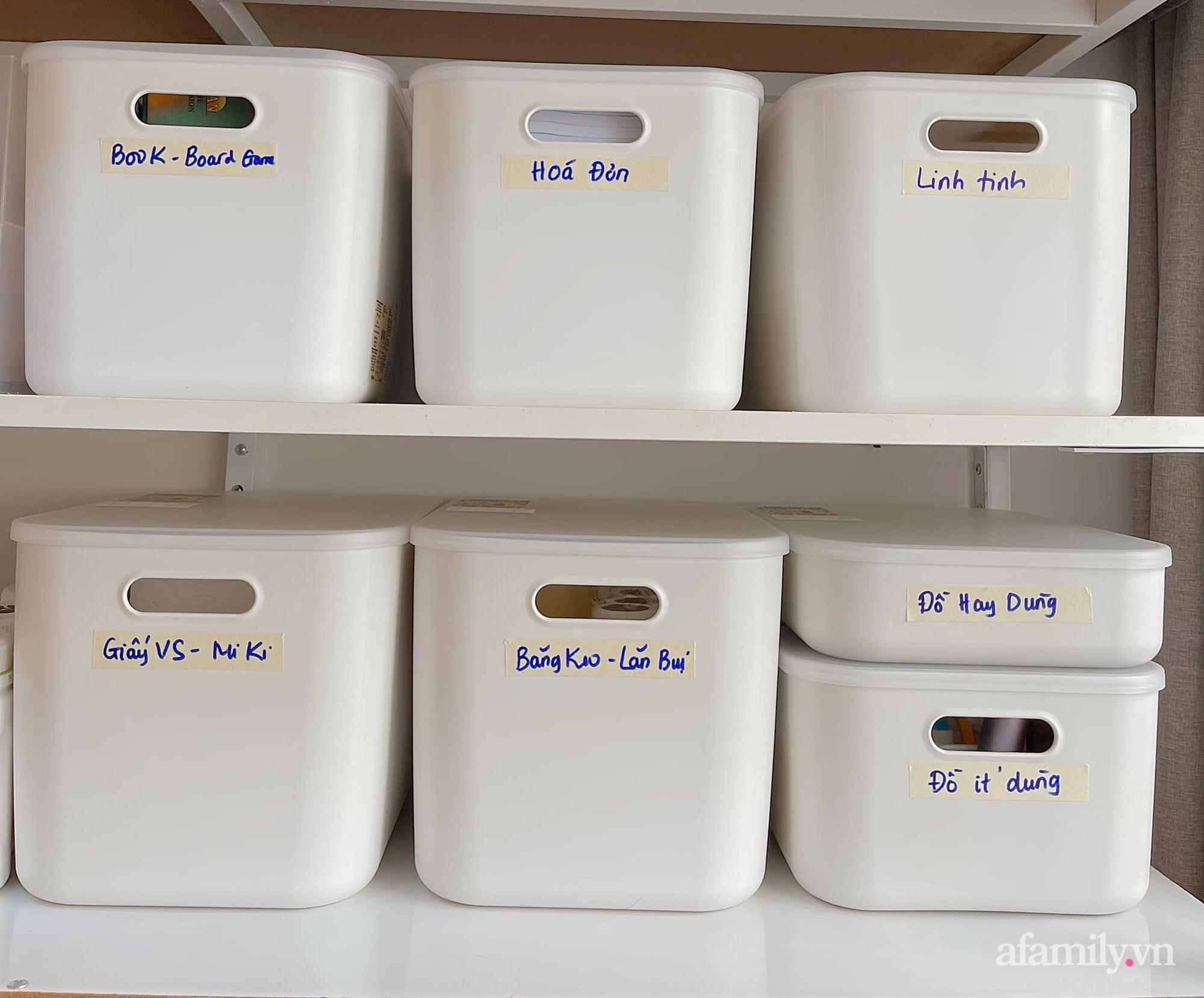 Mẹ ở Sài Gòn sử dụng phụ kiện nhỏ mà hô biến góc lưu trữ cho ngôi nhà gọn gàng, tinh tươm chỉ từ 129k - Ảnh 6.