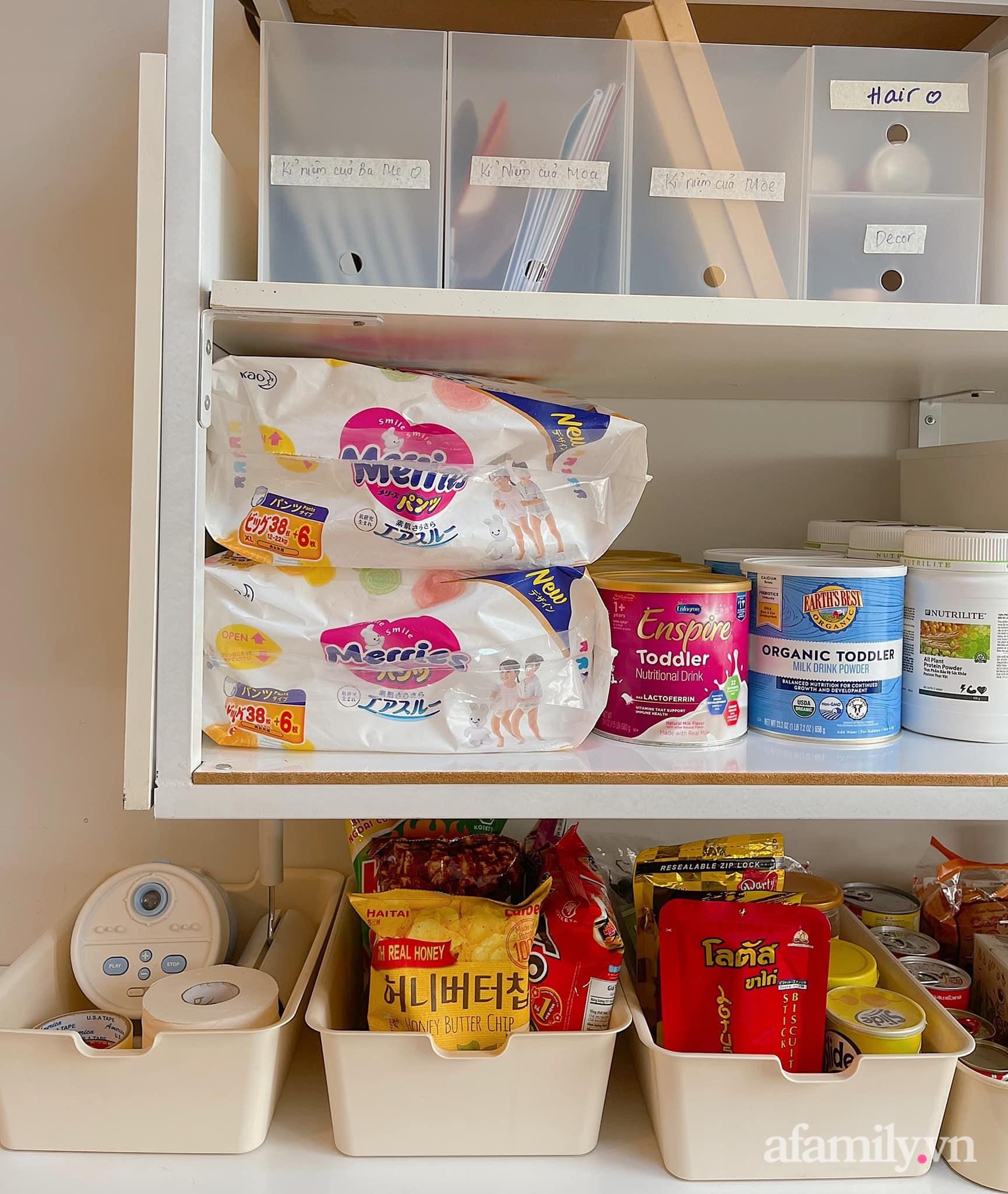 Mẹ ở Sài Gòn sử dụng phụ kiện nhỏ mà hô biến góc lưu trữ cho ngôi nhà gọn gàng, tinh tươm chỉ từ 129k - Ảnh 8.