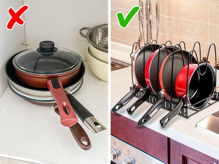 Những lời khuyên thiết thực giúp loại bỏ lộn xộn khỏi nhà bếp một cách nhanh chóng - Ảnh 8.