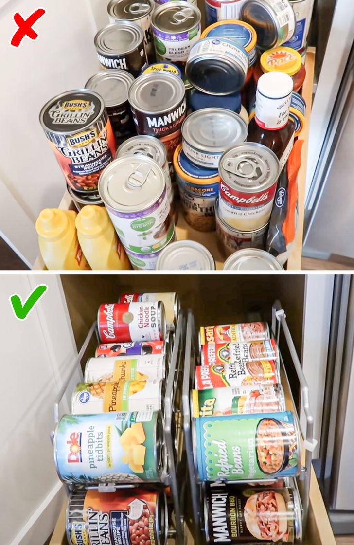 Những lời khuyên thiết thực giúp loại bỏ lộn xộn khỏi nhà bếp một cách nhanh chóng - Ảnh 9.