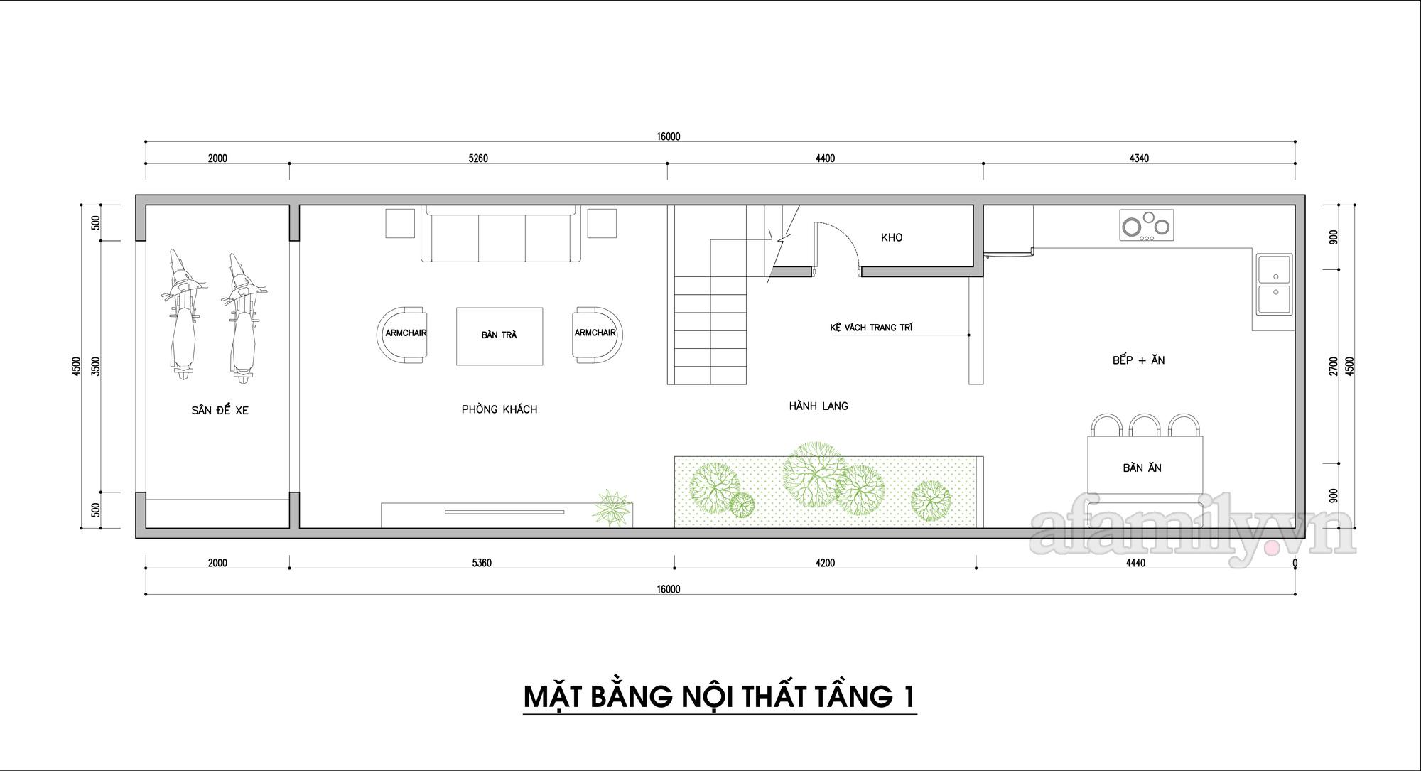 Kiến trúc sư tư vấn thiết kế nhà phố 3 tầng diện tích 72m² với chi phí tiết kiệm chỉ 220 triệu đồng - Ảnh 2.