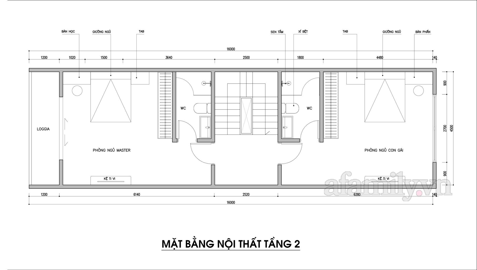 Kiến trúc sư tư vấn thiết kế nhà phố 3 tầng diện tích 72m² với chi phí tiết kiệm chỉ 220 triệu đồng - Ảnh 3.