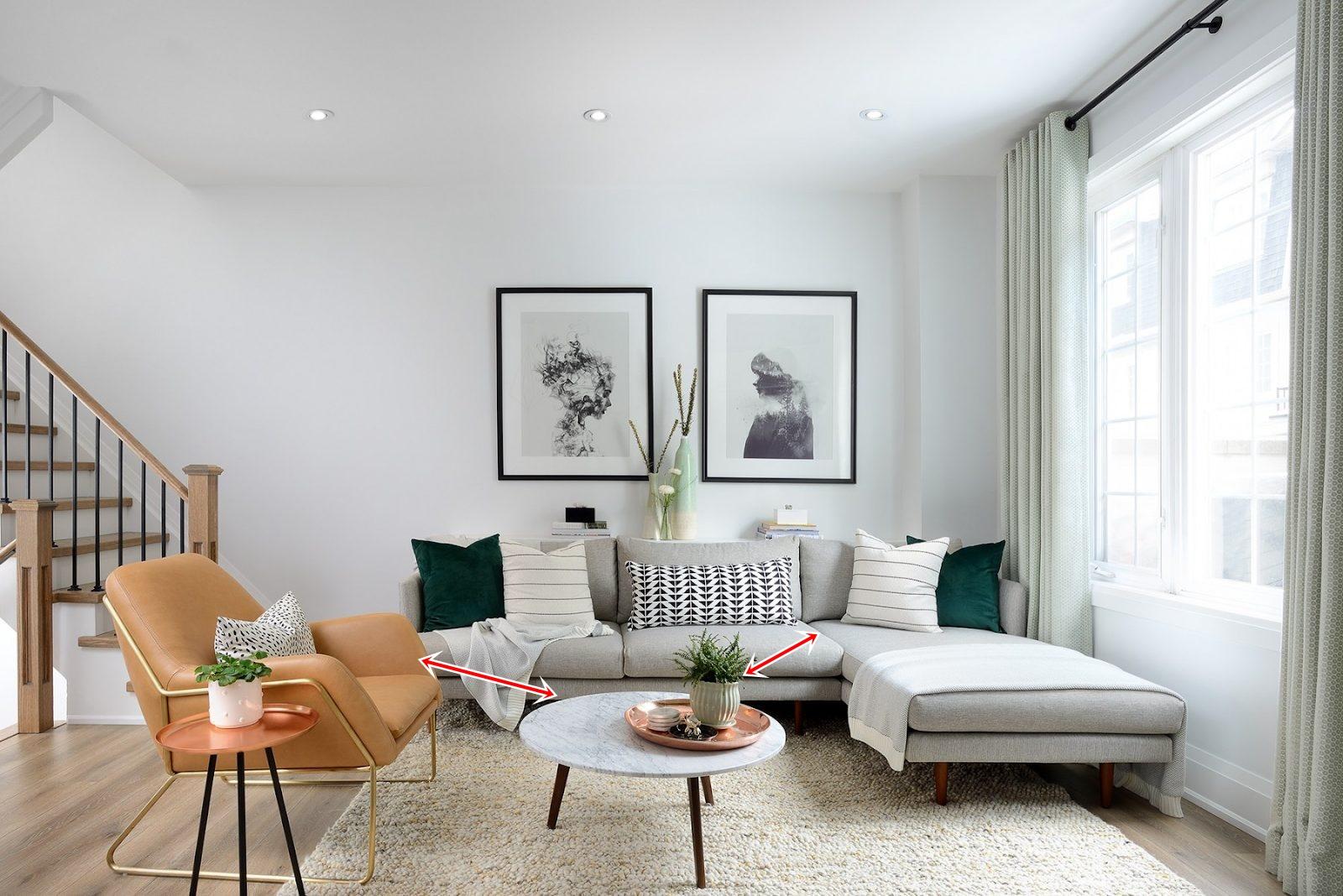 Cách chọn kích thước ghế sofa lý tưởng cho không gian nhà bạn - Ảnh 2.