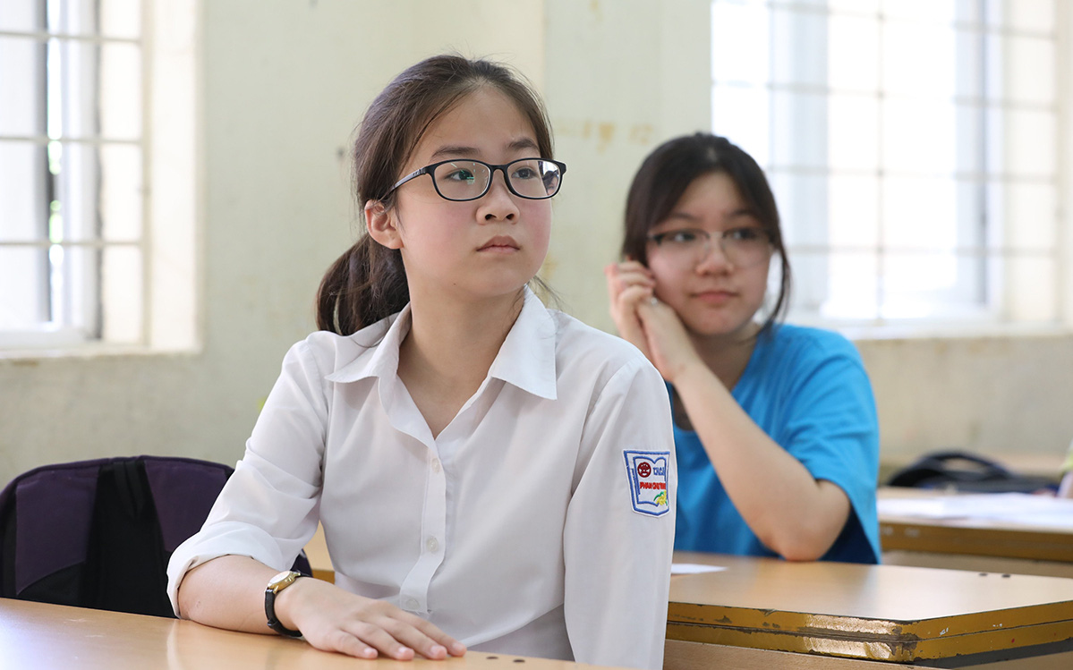 Điểm thi tuyển sinh lớp 10 một số tỉnh thành, thí sinh tham khảo để so sánh