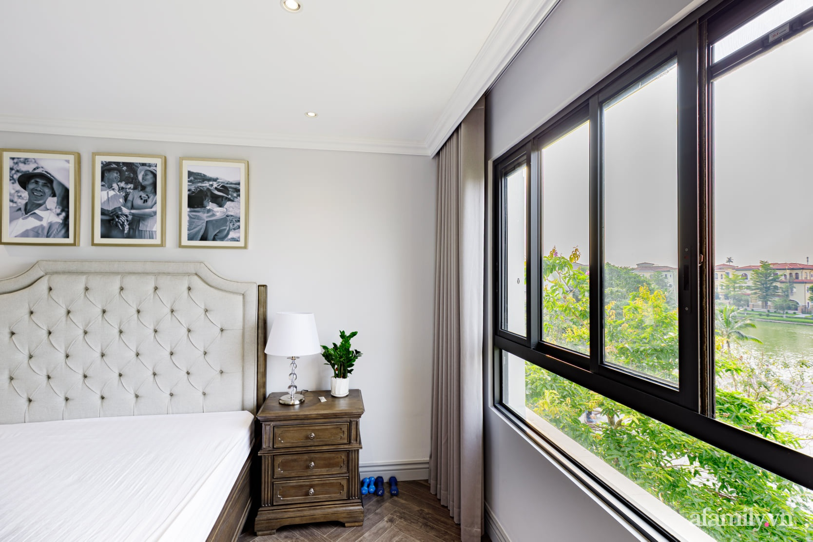 Nhà phố 3 tầng đẹp sang trọng với nội thất cực chất theo phong cách Traditional ở Hà Nội - Ảnh 28.