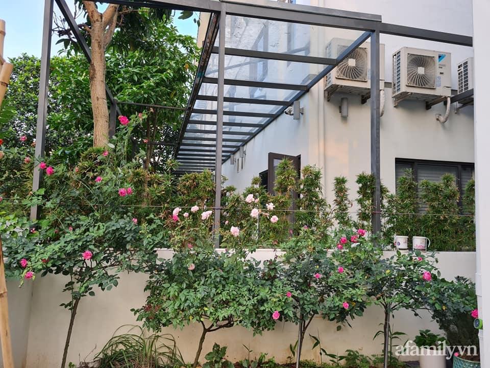 Nhà phố 3 tầng đẹp sang trọng với nội thất cực chất theo phong cách Traditional ở Hà Nội - Ảnh 5.