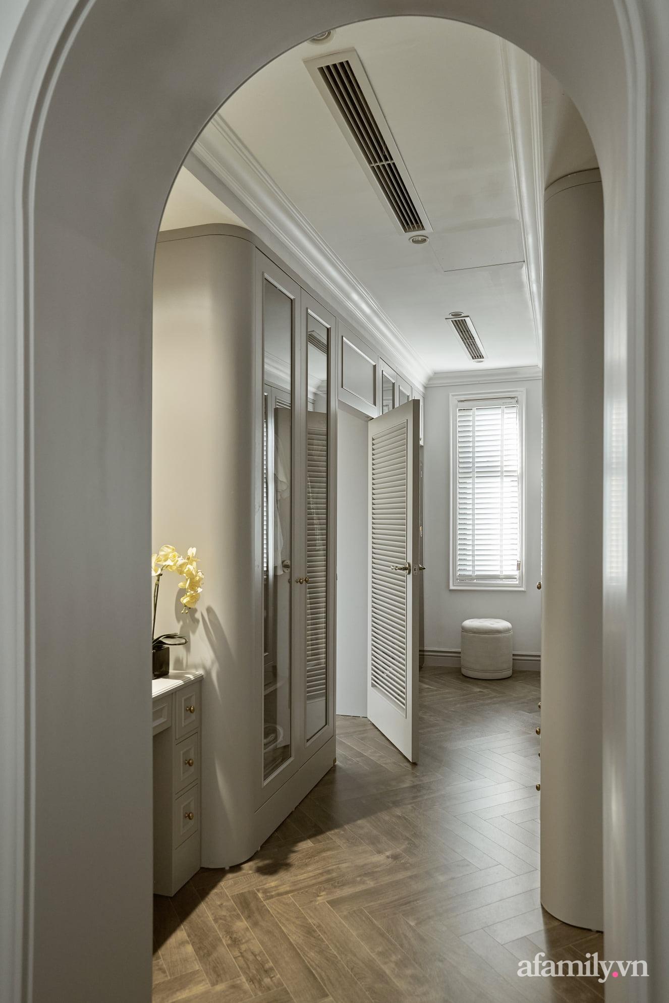Nhà phố 3 tầng đẹp sang trọng với nội thất cực chất theo phong cách Traditional ở Hà Nội - Ảnh 21.