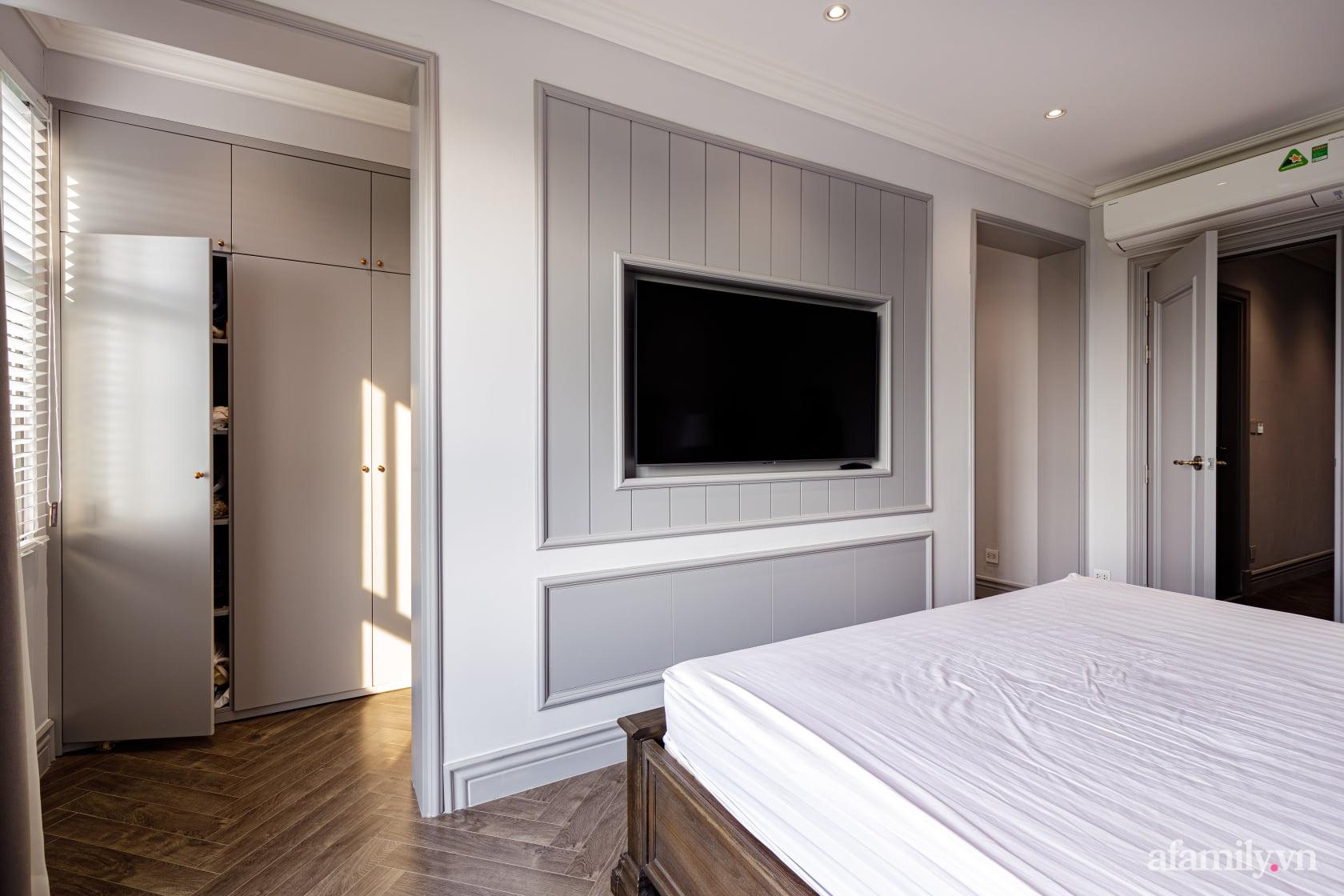 Nhà phố 3 tầng đẹp sang trọng với nội thất cực chất theo phong cách Traditional ở Hà Nội - Ảnh 27.