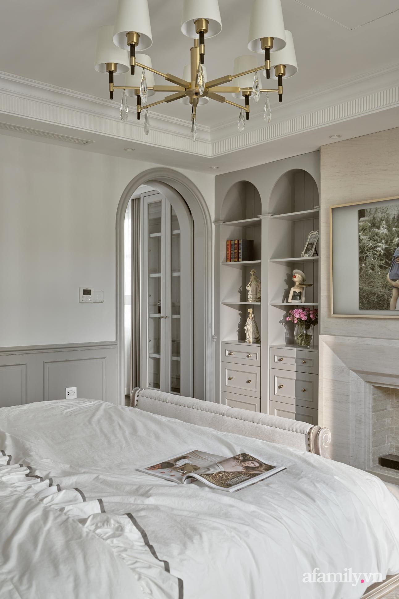 Nhà phố 3 tầng đẹp sang trọng với nội thất cực chất theo phong cách Traditional ở Hà Nội - Ảnh 20.