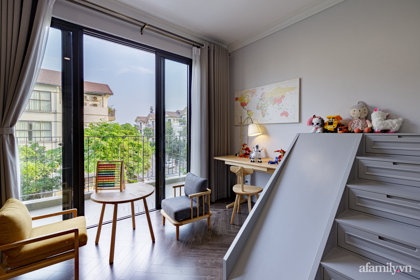 Nhà phố 3 tầng đẹp sang trọng với nội thất cực chất theo phong cách Traditional ở Hà Nội - Ảnh 23.
