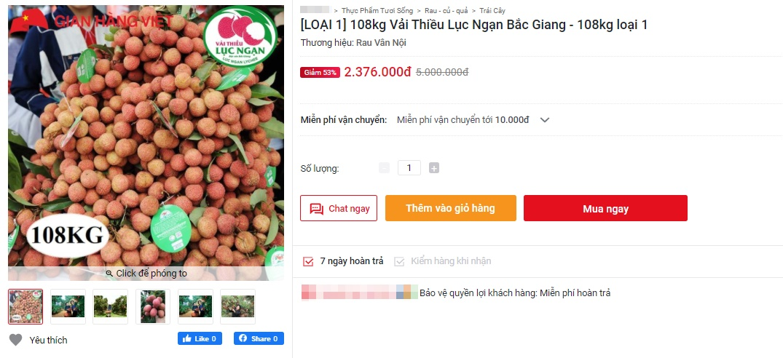 Deal hot mua vải thiều Bắc Giang: Giảm tới 50% mà quả nào quả nấy đẹp ngon 10/10 - Ảnh 4.