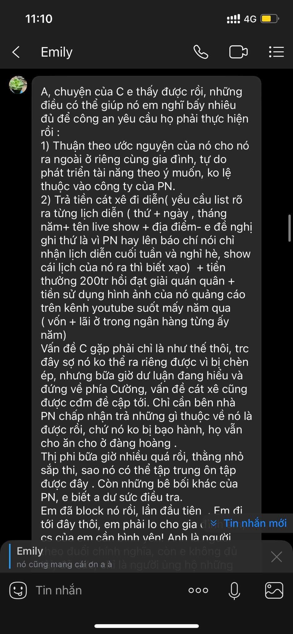 Một người chị thân thiết với Hồ Văn Cường đưa ra 2 hướng xử lý cho phía ca sĩ Phi Nhung sau loạt ồn ào - Ảnh 1.