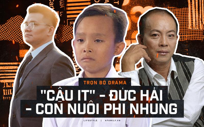 """Trọn bộ drama """"Cậu IT Nhâm Hoàng Khang"""": NSƯT Đức Hải, Phi Phi Cô Nương, Hồ Văn Cường lần lượt """"vào vai chính"""""""