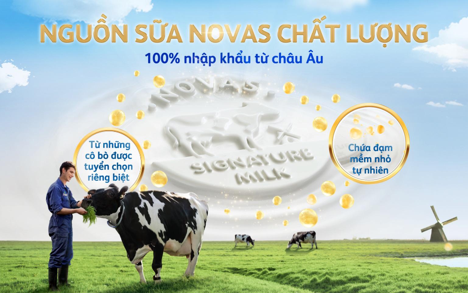 Friso Gold mới với nguồn sữa NOVAS 100% từ Châu Âu giúp bé dễ tiêu hóa - Ảnh 2.