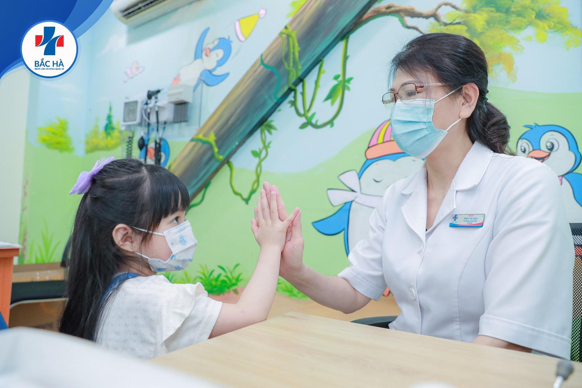 Khoa nhi bệnh viện Quốc tế Bắc Hà: Chăm bé tận tâm - ươm mầm sức khỏe - Ảnh 2.
