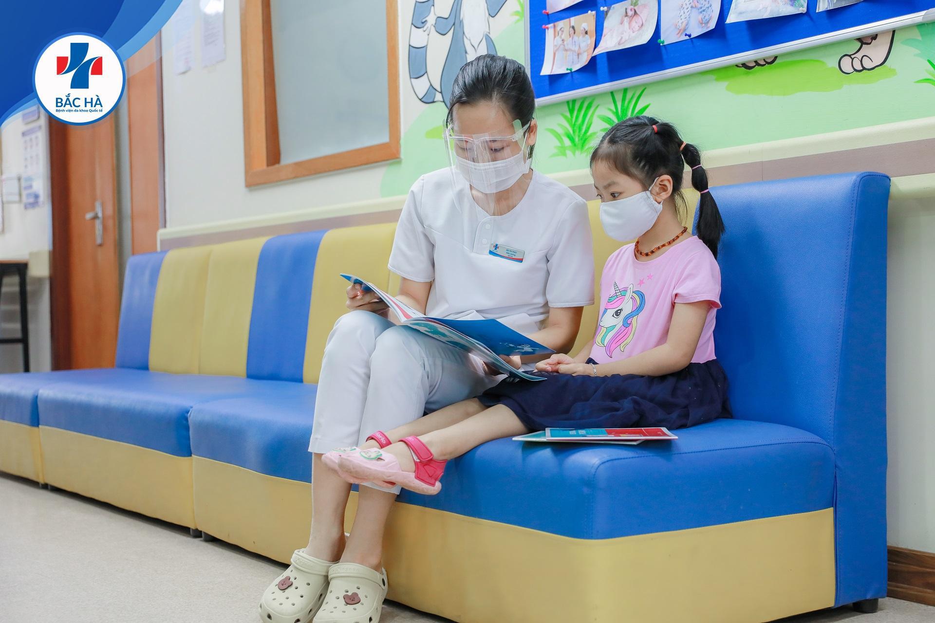 Khoa nhi bệnh viện Quốc tế Bắc Hà: Chăm bé tận tâm - ươm mầm sức khỏe - Ảnh 3.