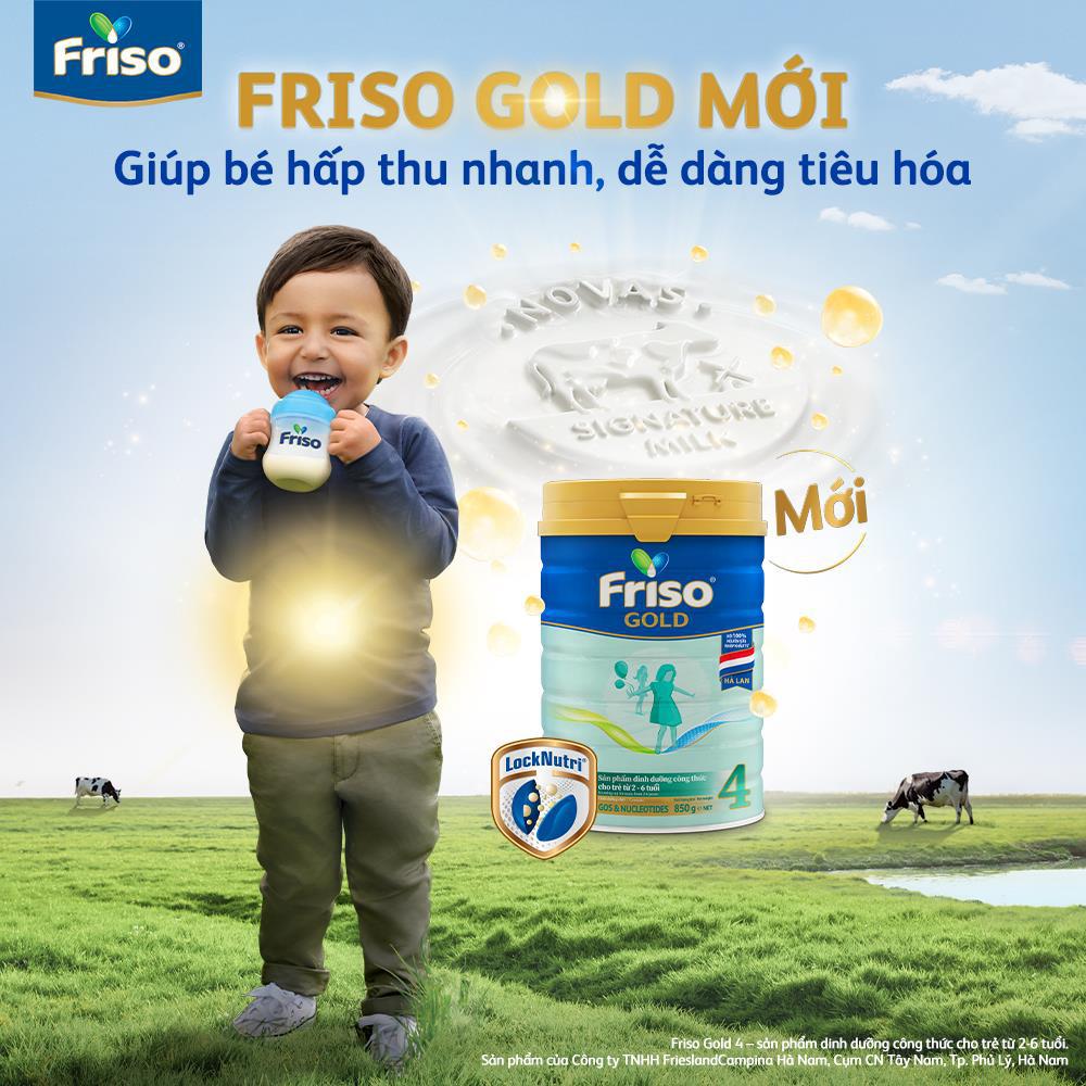 Friso Gold mới với nguồn sữa NOVAS 100% từ Châu Âu giúp bé dễ tiêu hóa - Ảnh 5.