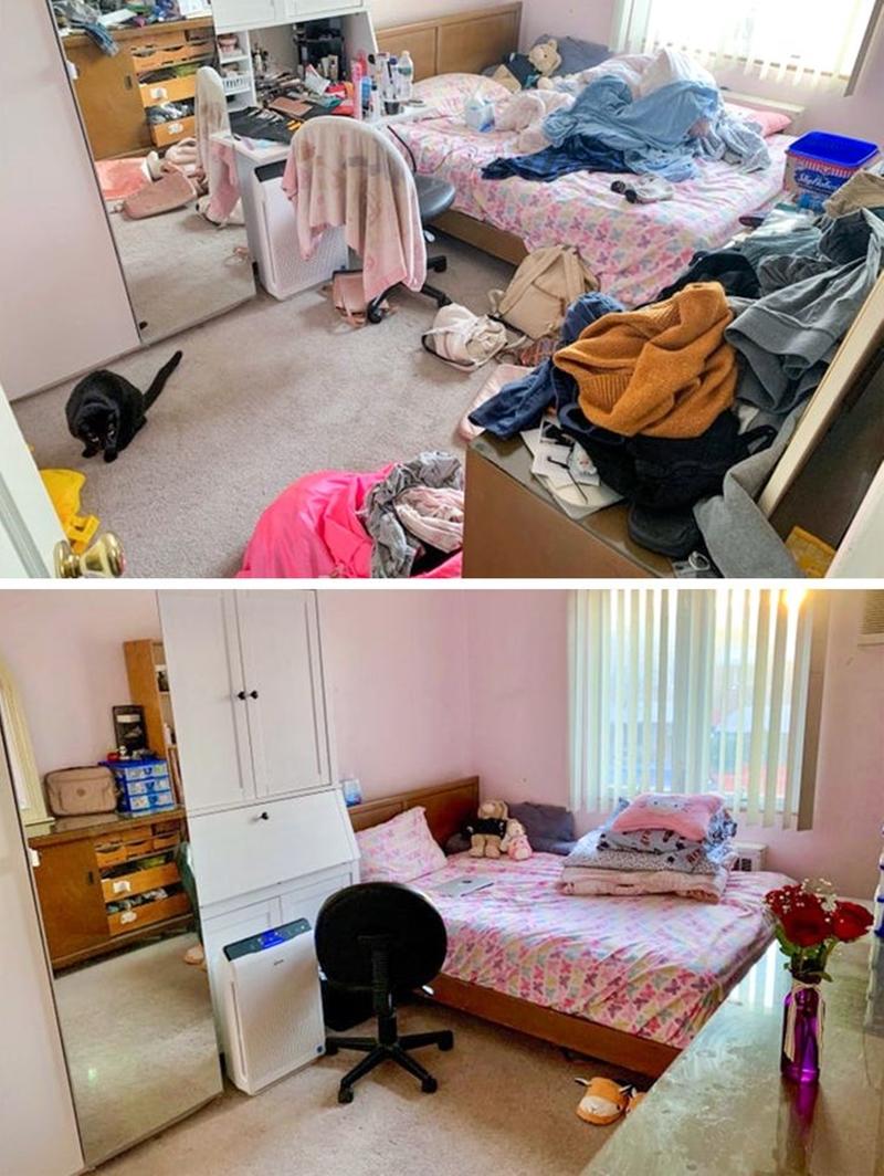 """Tôi đã vật lộn với căn phòng của mình vài tiếng đồng hồ và """"phát khóc"""" khi nhìn kết quả! - Ảnh 13."""