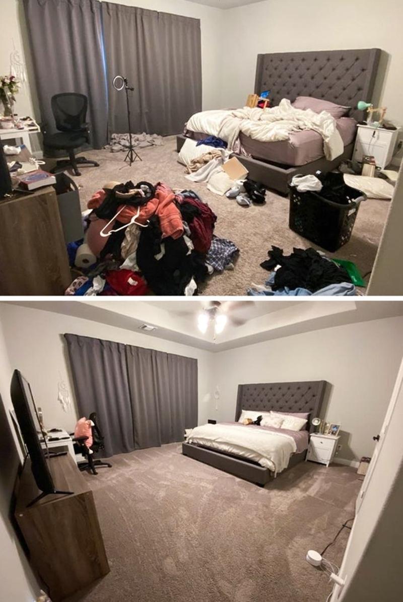 """Tôi đã vật lộn với căn phòng của mình vài tiếng đồng hồ và """"phát khóc"""" khi nhìn kết quả! - Ảnh 15."""