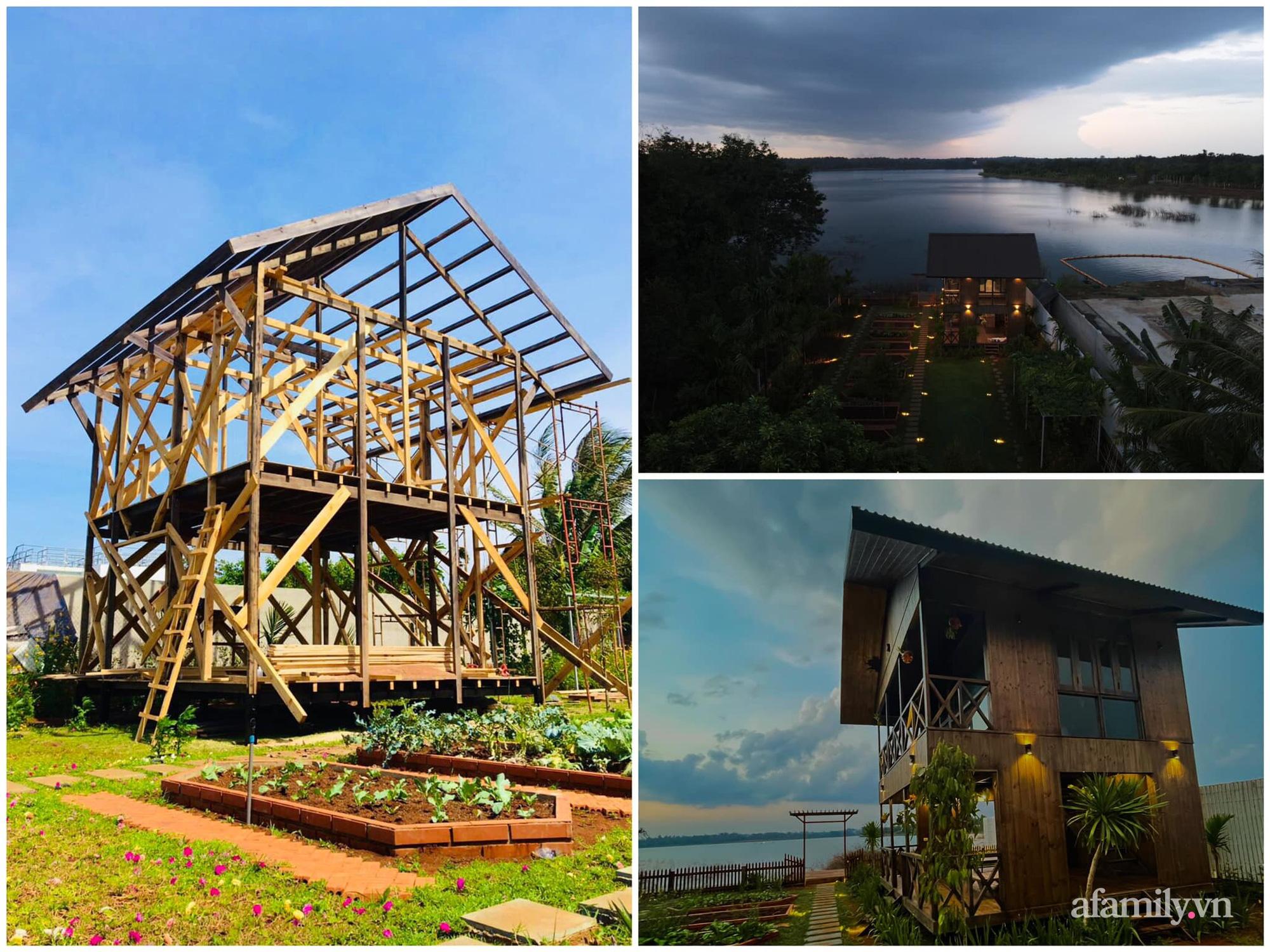 Căn nhà gỗ bình yên hướng tầm nhìn ra hồ nước trong veo, thơ mộng ở Buôn Mê Thuột - Ảnh 8.