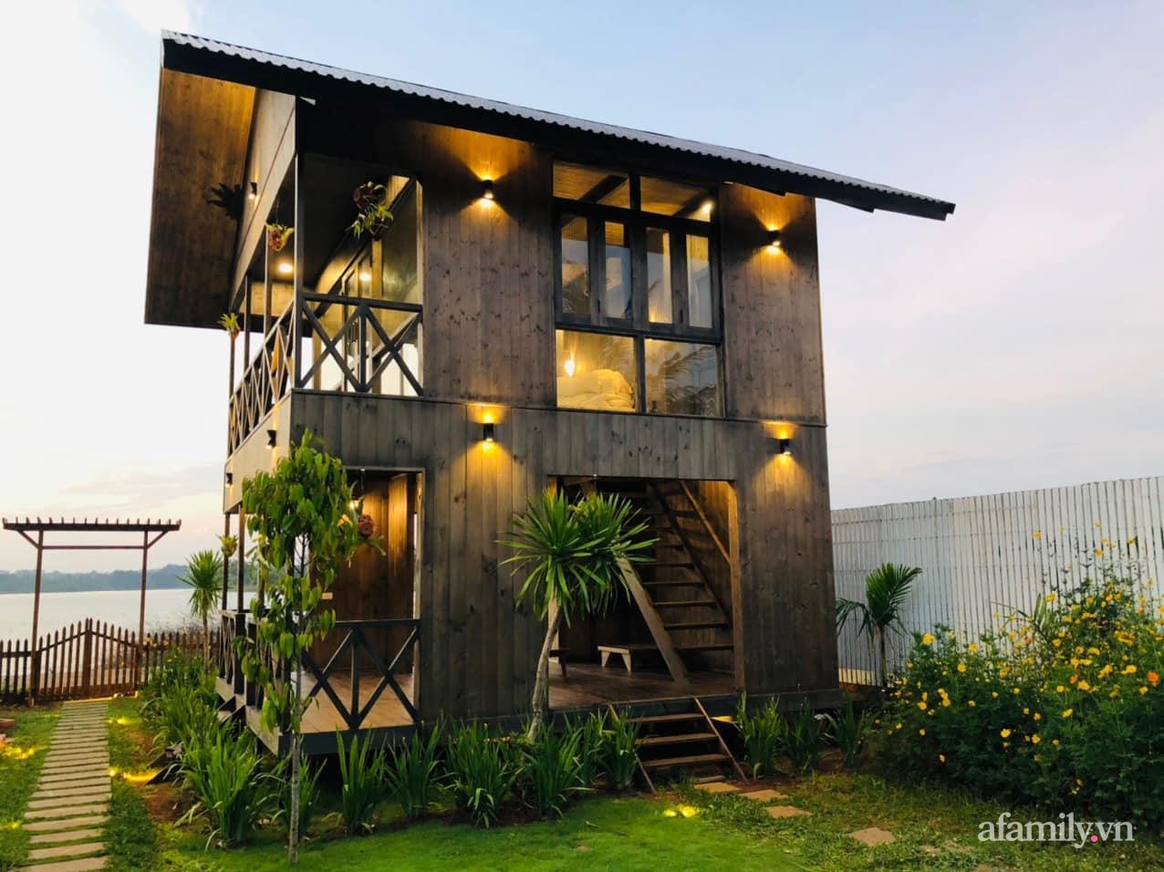 Căn nhà gỗ bình yên hướng tầm nhìn ra hồ nước trong veo, thơ mộng ở Buôn Mê Thuột - Ảnh 7.