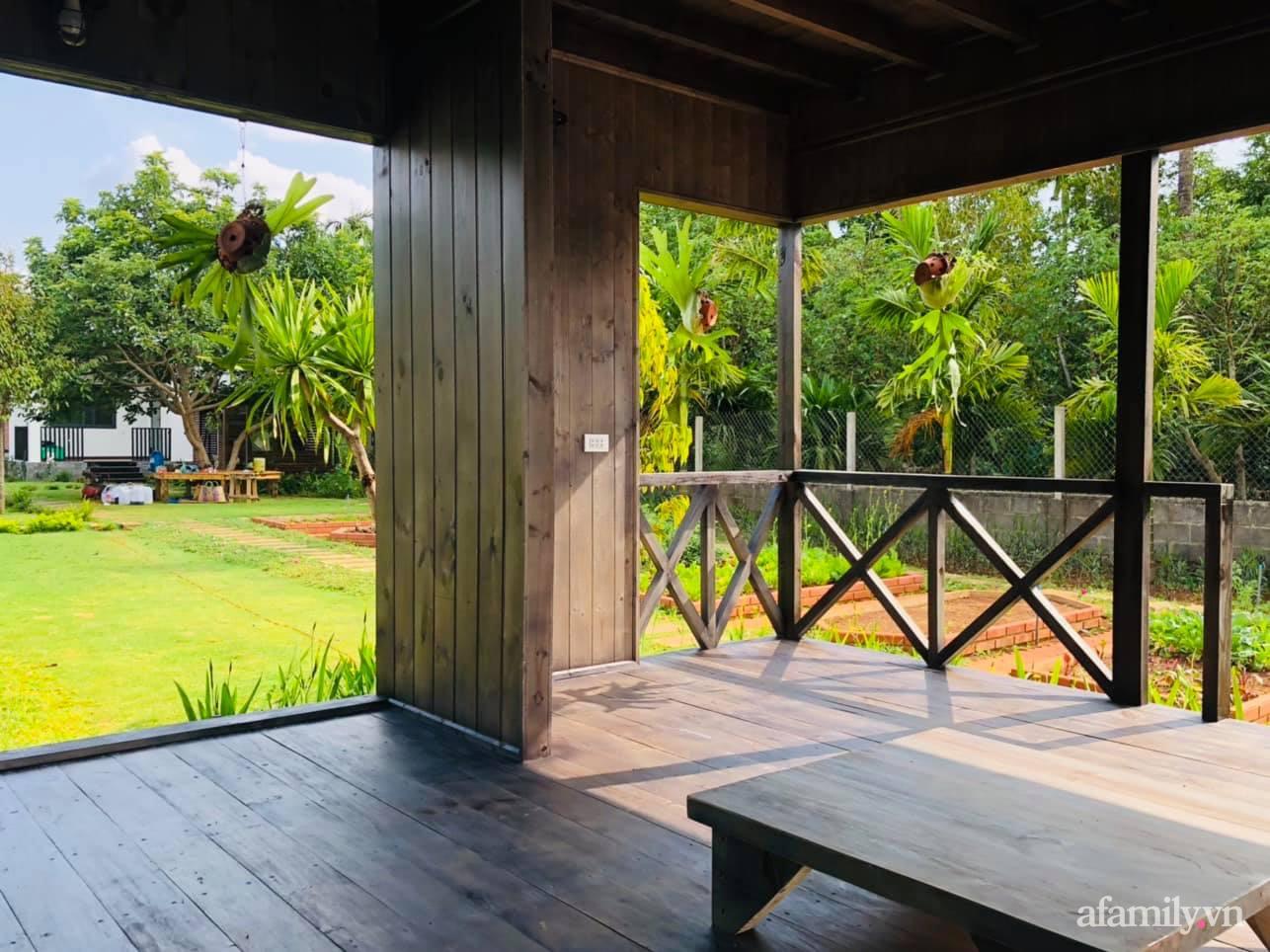 Căn nhà gỗ bình yên hướng tầm nhìn ra hồ nước trong veo, thơ mộng ở Buôn Mê Thuột - Ảnh 13.