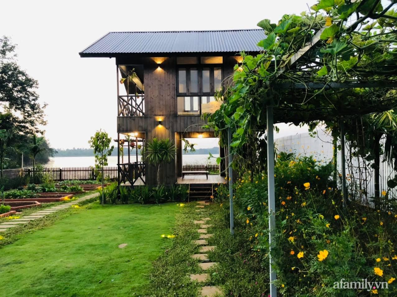 Căn nhà gỗ bình yên hướng tầm nhìn ra hồ nước trong veo, thơ mộng ở Buôn Mê Thuột - Ảnh 5.