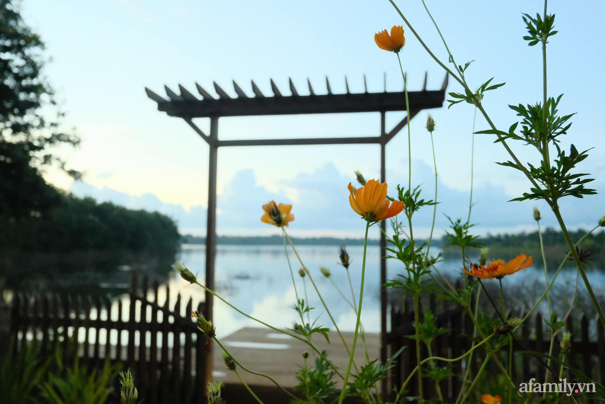 Căn nhà gỗ bình yên hướng tầm nhìn ra hồ nước trong veo, thơ mộng ở Buôn Mê Thuột - Ảnh 20.