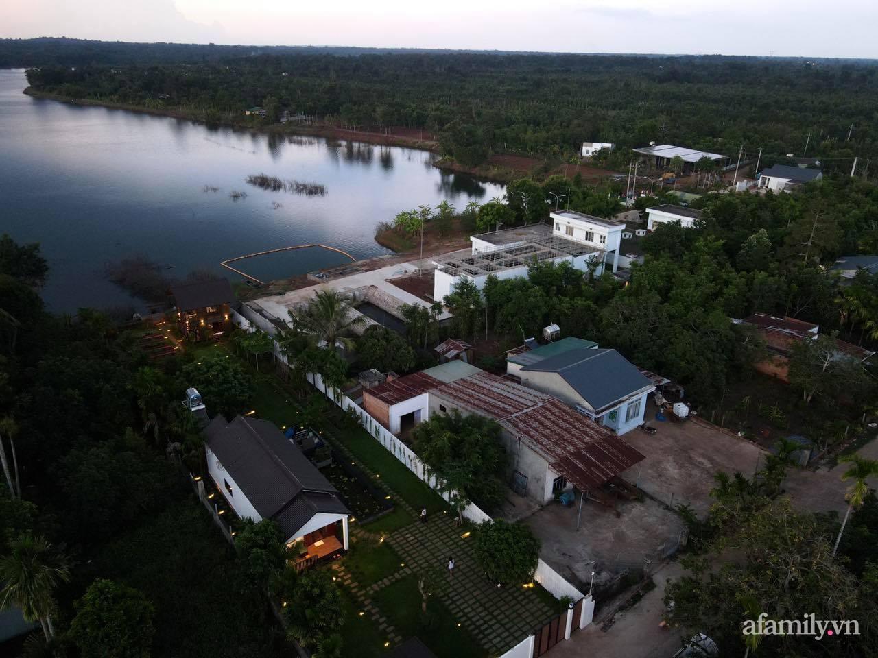 Căn nhà gỗ bình yên hướng tầm nhìn ra hồ nước trong veo, thơ mộng ở Buôn Mê Thuột - Ảnh 2.