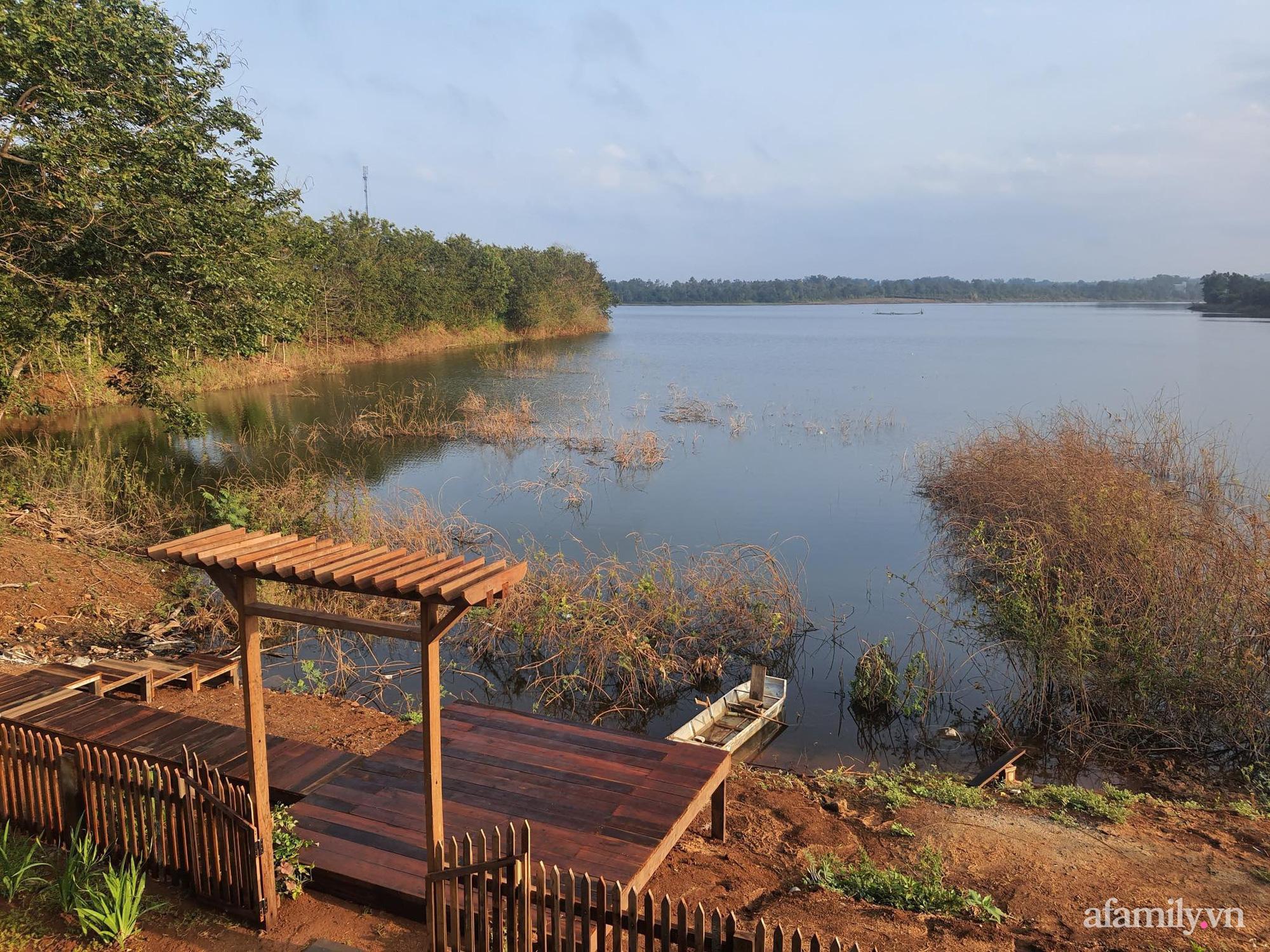 Căn nhà gỗ bình yên hướng tầm nhìn ra hồ nước trong veo, thơ mộng ở Buôn Mê Thuột - Ảnh 21.