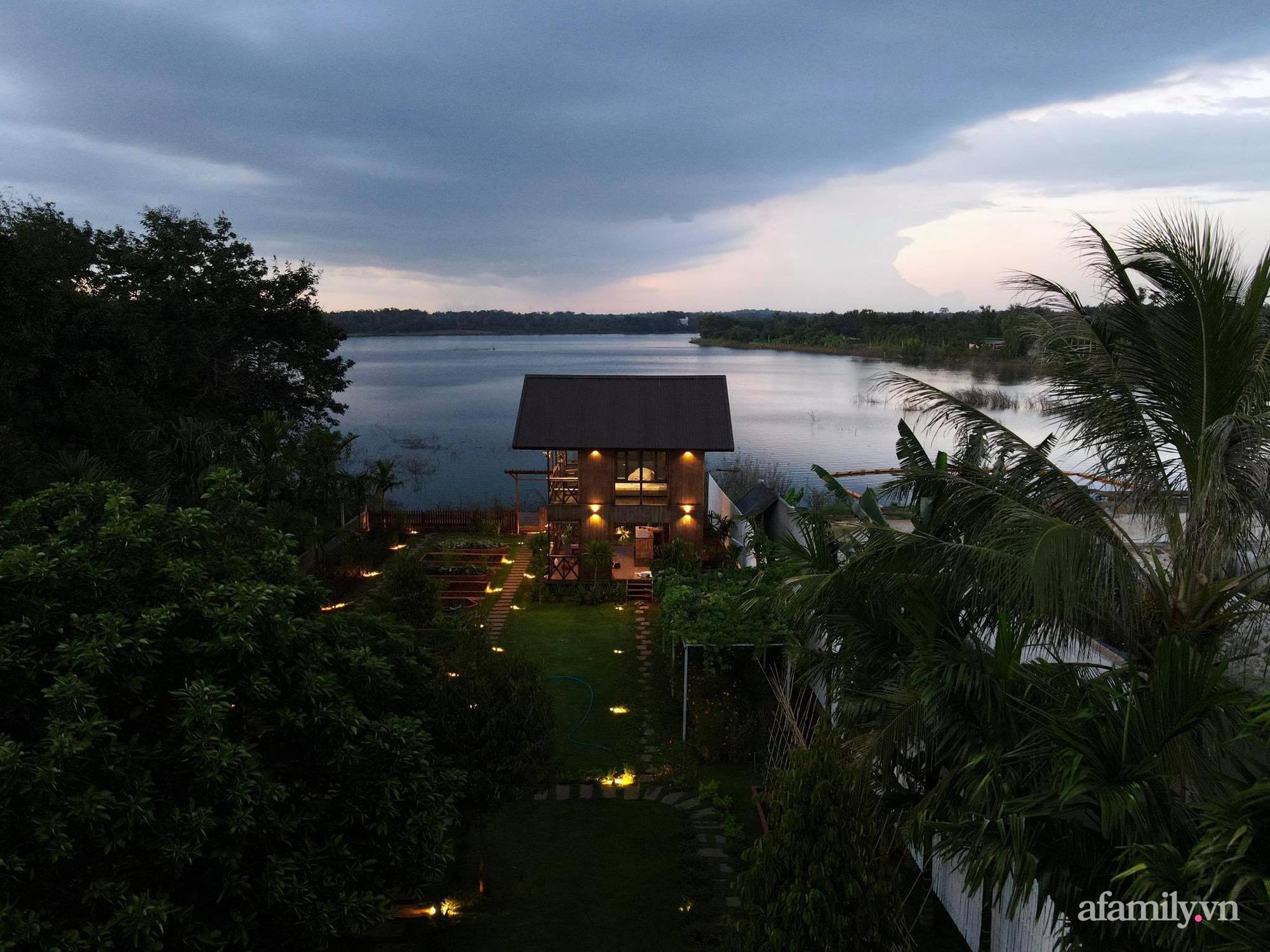 Căn nhà gỗ bình yên hướng tầm nhìn ra hồ nước trong veo, thơ mộng ở Buôn Mê Thuột - Ảnh 3.