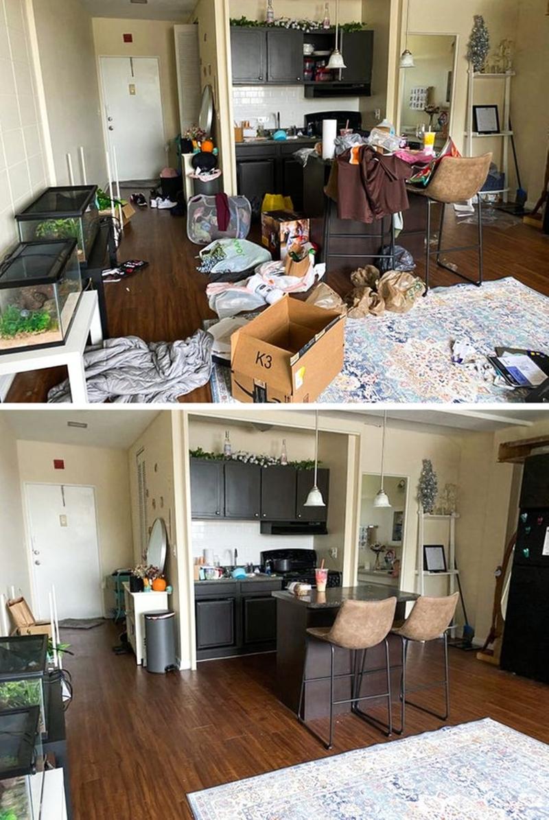 """Tôi đã vật lộn với căn phòng của mình vài tiếng đồng hồ và """"phát khóc"""" khi nhìn kết quả! - Ảnh 9."""