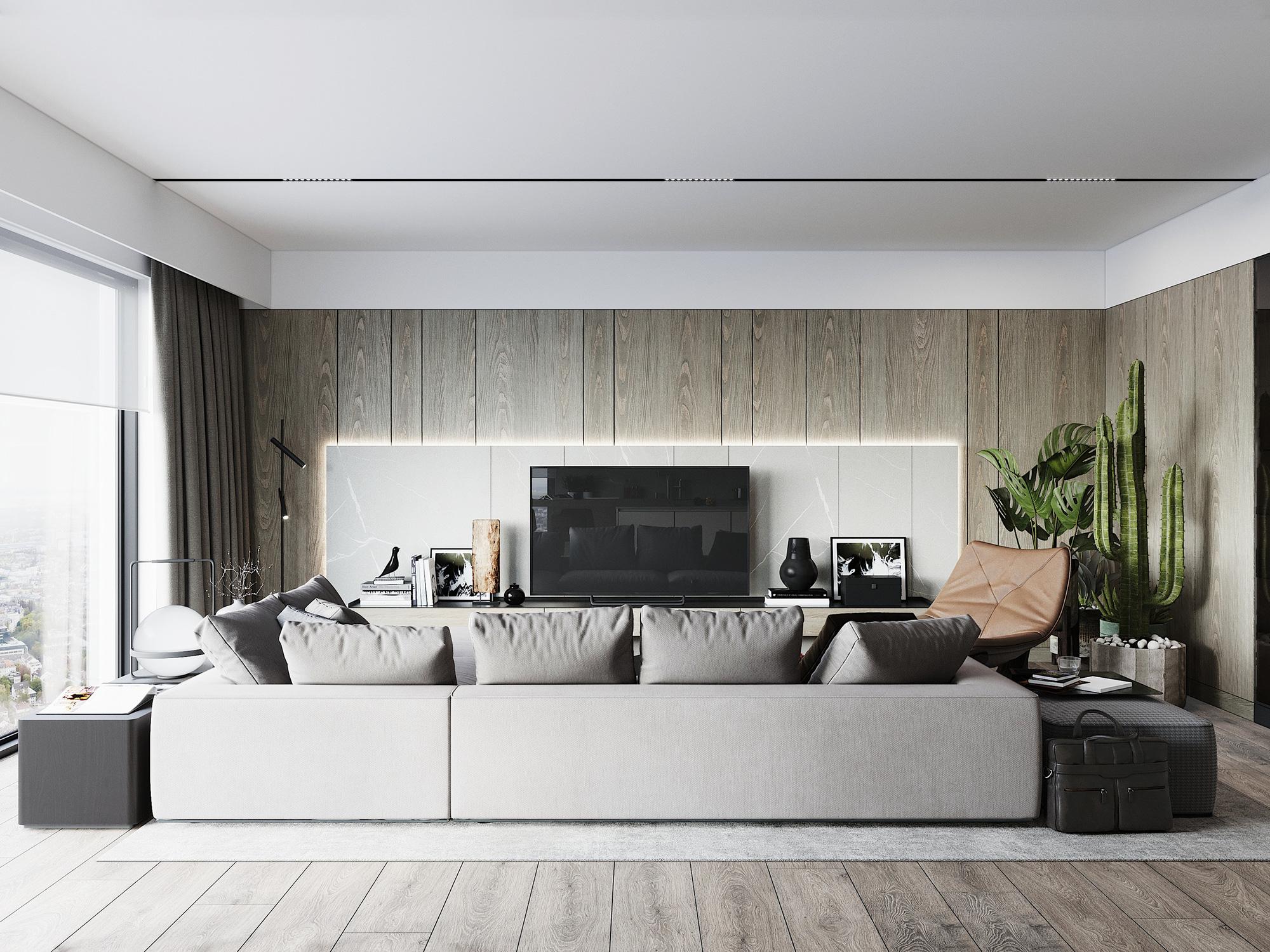 Kiến trúc sư tư vấn thiết kế căn hộ 76m² 2 phòng ngủ với chi phí tiết kiệm chỉ 189 triệu - Ảnh 3.