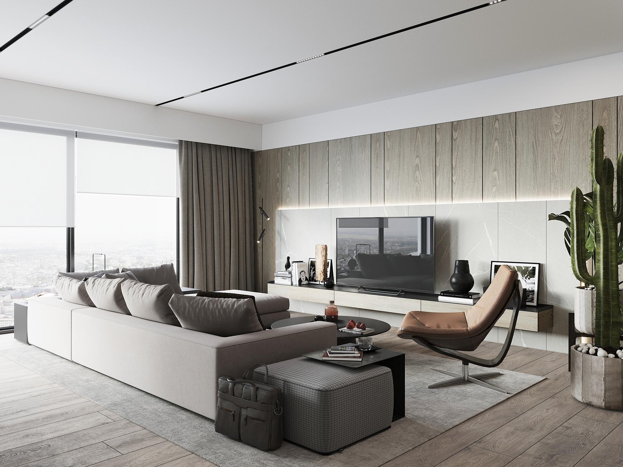Kiến trúc sư tư vấn thiết kế căn hộ 76m² 2 phòng ngủ với chi phí tiết kiệm chỉ 189 triệu - Ảnh 4.