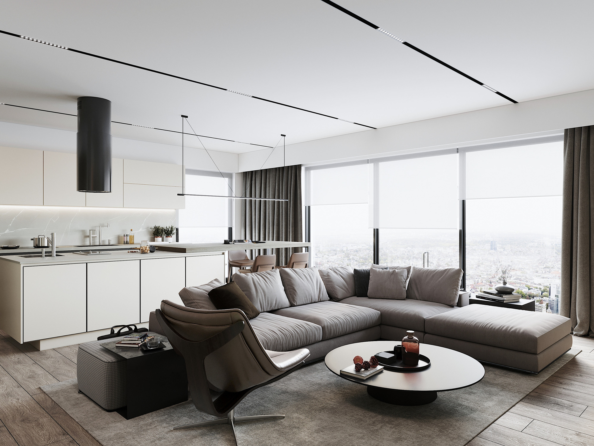 Kiến trúc sư tư vấn thiết kế căn hộ 76m² 2 phòng ngủ với chi phí tiết kiệm chỉ 189 triệu - Ảnh 5.