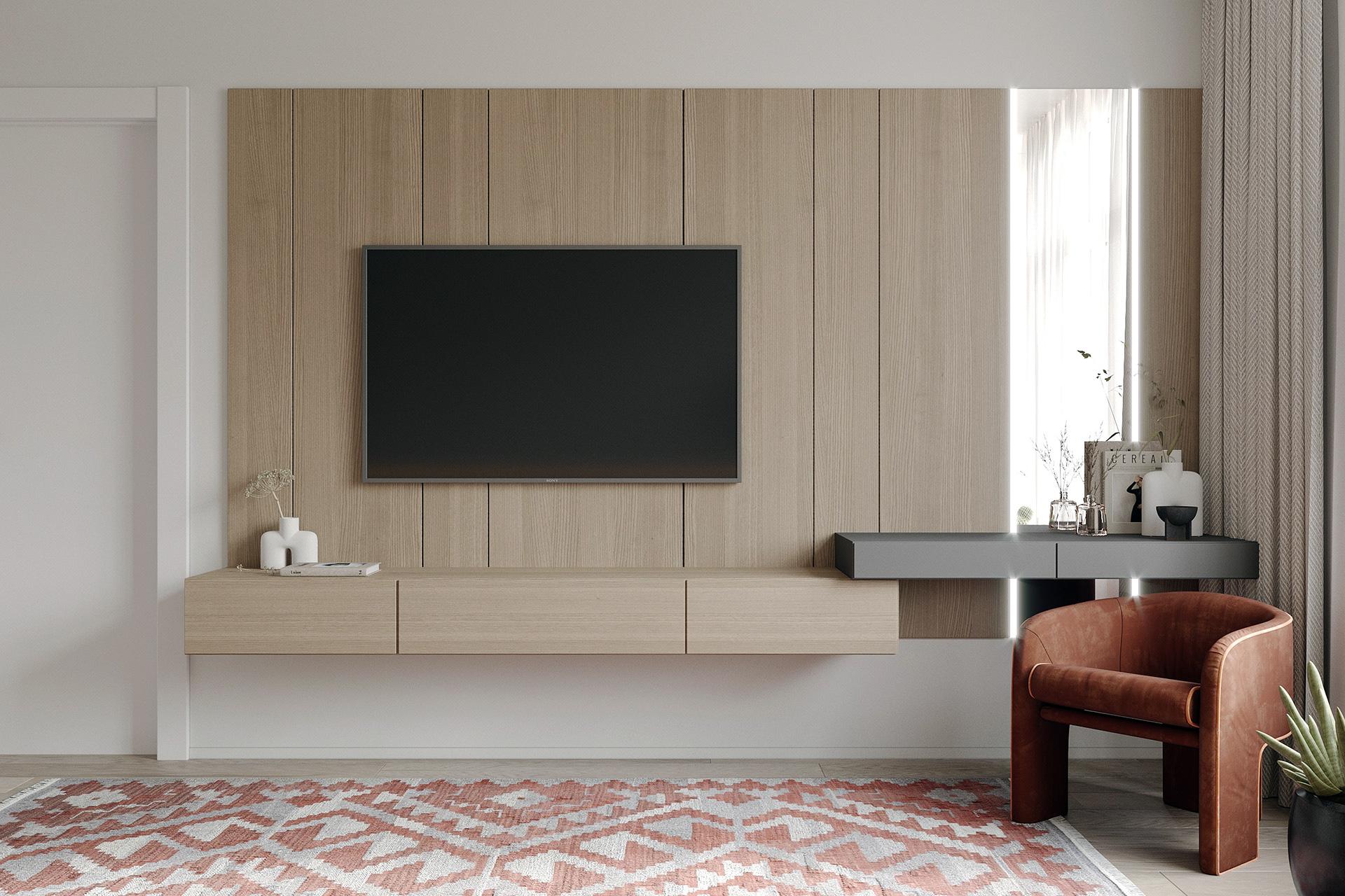 Kiến trúc sư tư vấn thiết kế căn hộ 76m² 2 phòng ngủ với chi phí tiết kiệm chỉ 189 triệu - Ảnh 7.
