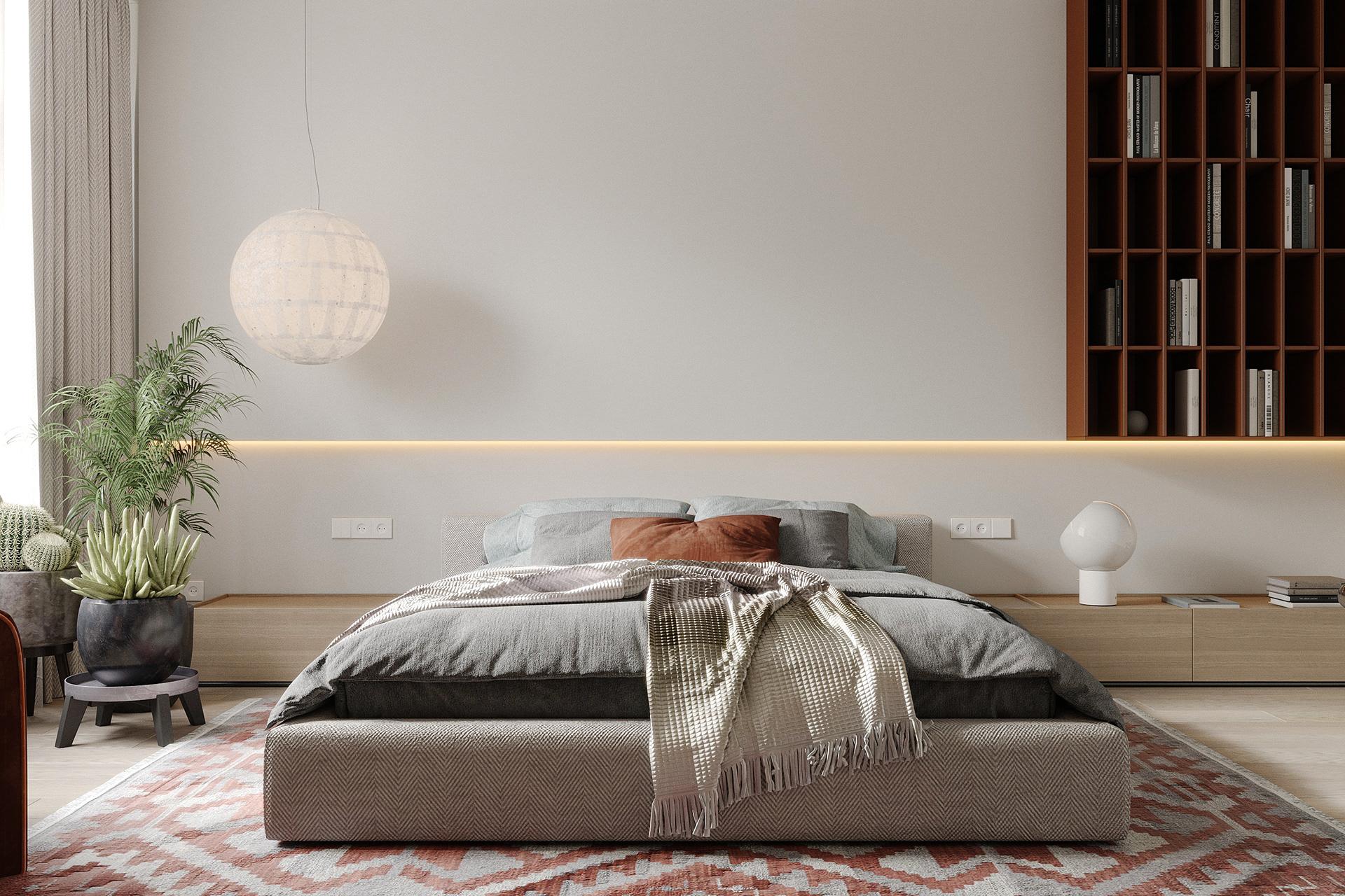 Kiến trúc sư tư vấn thiết kế căn hộ 76m² 2 phòng ngủ với chi phí tiết kiệm chỉ 189 triệu - Ảnh 8.