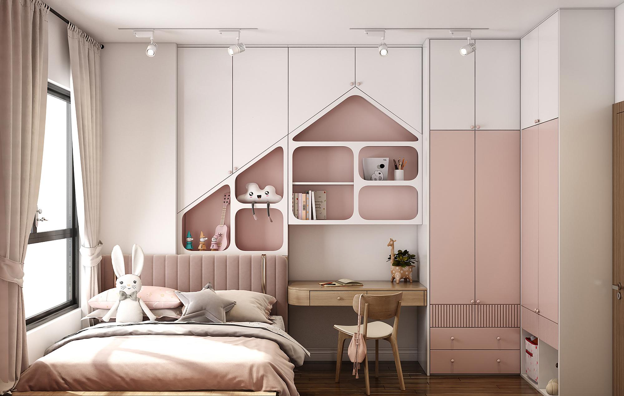 Kiến trúc sư tư vấn thiết kế căn hộ 76m² 2 phòng ngủ với chi phí tiết kiệm chỉ 189 triệu - Ảnh 9.