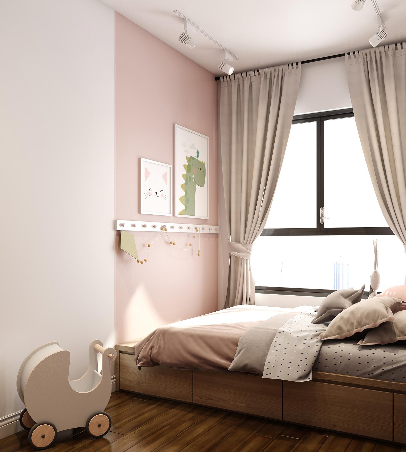 Kiến trúc sư tư vấn thiết kế căn hộ 76m² 2 phòng ngủ với chi phí tiết kiệm chỉ 189 triệu - Ảnh 10.