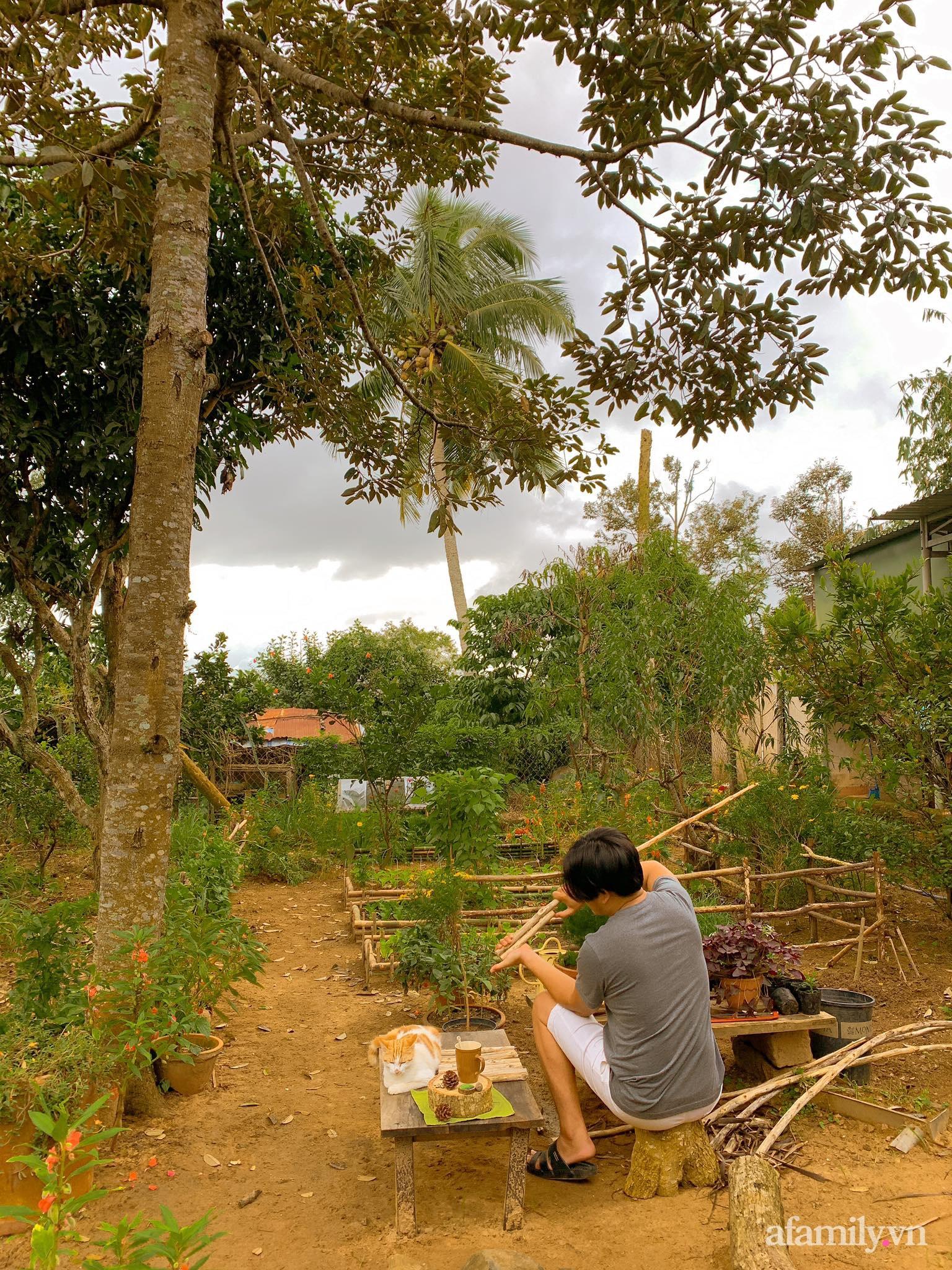 Chán cuộc sống bon chen ở phố, cặp vợ chồng 9X có thu nhập ổn định quyết định chọn về quê sống bình yên bên vườn tược ở Đắk Lắk - Ảnh 8.